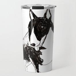 Miniature Bull Terrier Travel Mug
