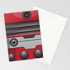 Dalek Red - Doctor Who Stationery Cards