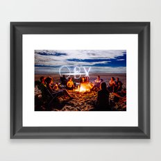 OBX! Framed Art Print