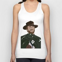 clint eastwood Tank Tops featuring Clint Eastwood by  Steve Wade ( Swade)