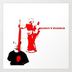 Giantrobo Art Print