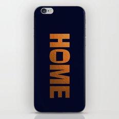 Colorado home state faux copper foil print iPhone & iPod Skin