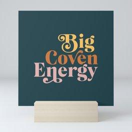Big Coven Energy - Navy Mini Art Print
