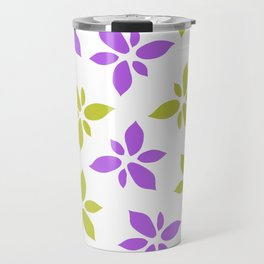 Illustration of flowers Travel Mug