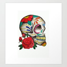 sugarskull Art Print