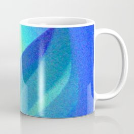 Blue Morning View, Abstract Coffee Mug