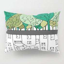 SCONFINAMENTI-CITY AND NATURE Pillow Sham