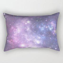 Space Frontier - Purple Rectangular Pillow