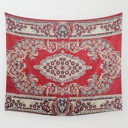 Traditional Glorious red rug Wall Tapestry
