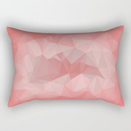 pink tone background Rectangular Pillow