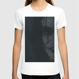 The Crow Screenplay Print T-shirt