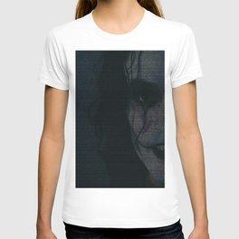 The Crow Screenplay Print T-shirt
