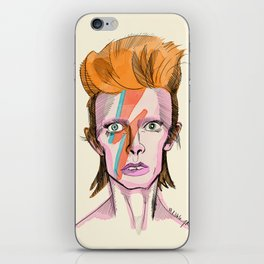 Bowie iPhone Skin