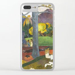 Mata Mua by Paul Gauguin Clear iPhone Case