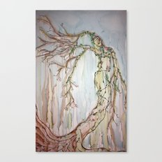 Woman of the Trees Canvas Print