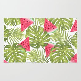 TROPICAL WATERMELONS Rug