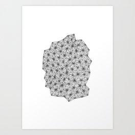 Geometric 0.4 Art Print