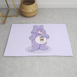 Coffee Care Bear Rug