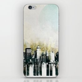 Music of The City iPhone Skin