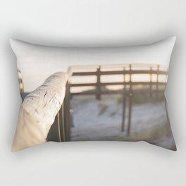 beach pathway Rectangular Pillow