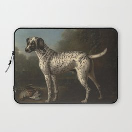 A Grey Spotted Hound by John Wootton Laptop Sleeve