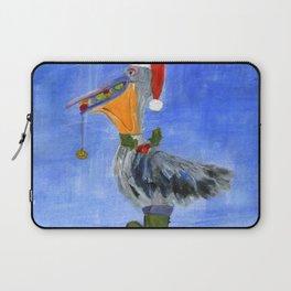 Christmas Pelican Laptop Sleeve