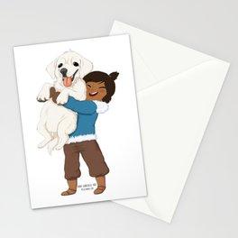Best Friends | Korra and Naga Stationery Cards