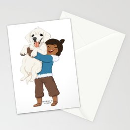 Best Friends | Korra and Naga Stationery Cards