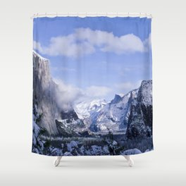 Yosemite Shower Curtain