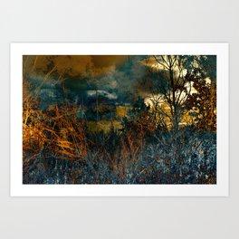 Curran Road #2 Art Print