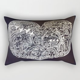 Ancient figures Rectangular Pillow