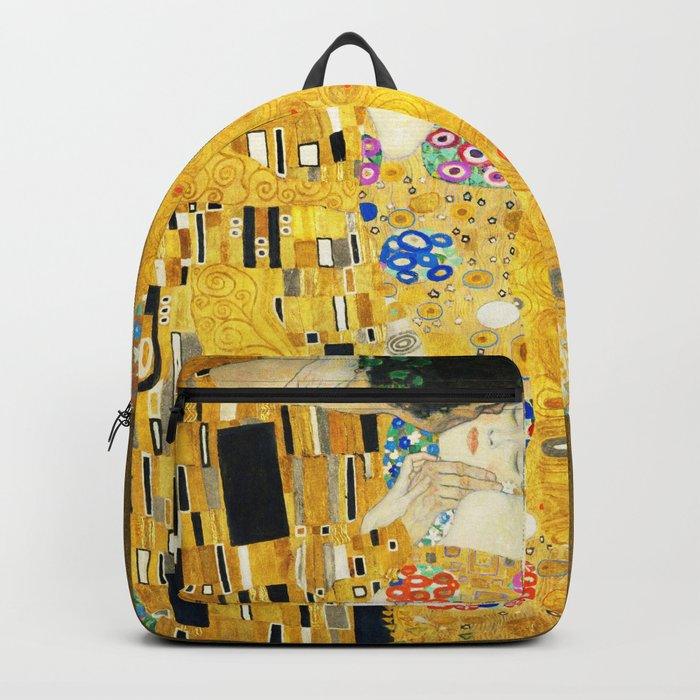 Gustav Klimt The Kiss Backpack