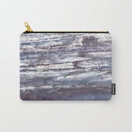 Gray violet Carry-All Pouch