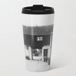Old English Barn Travel Mug