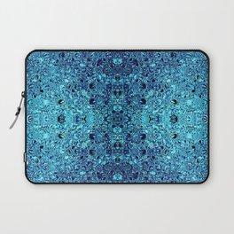 Deep blue glass mosaic Laptop Sleeve
