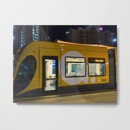 Light Rail Travel Metal Print