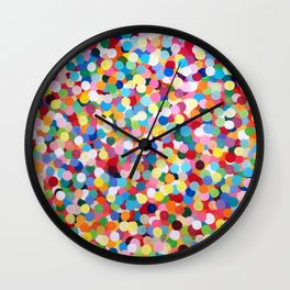 Summer Party Wall Clock