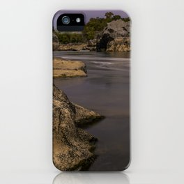 Potomac River in Autumn III iPhone Case