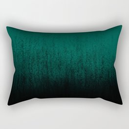 Emerald Ombré Rectangular Pillow