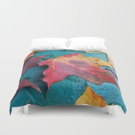 WithrowLeaves Duvet Cover