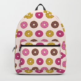 Sweet Donuts Pattern Backpack