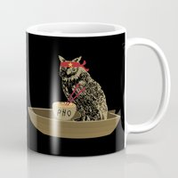vietnam Mugs featuring Vietnam Owl by October's Very Own