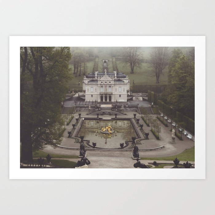 King Ludwig's little loft Art Print