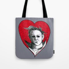 Micheal Myers (All Heart) Tote Bag