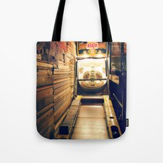 Meanwhile, Somewhere In Brooklyn... Tote Bag
