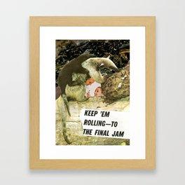 THE FINAL JAM Framed Art Print
