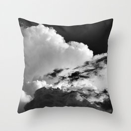'Swirling Clouds' Throw Pillow