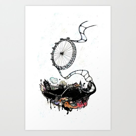 New British Film Festival Art Print