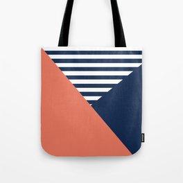 Three colors Tote Bag