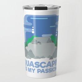 Aquascaping Fan Gift I Aquarium Fish Tank Gardening Gift design Travel Mug